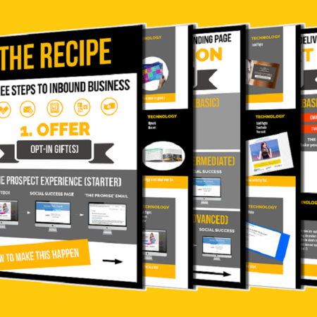 THE RECIPE [FUNNEL BUILDING & AUTHORITY BOOSTERS FOR B2B]