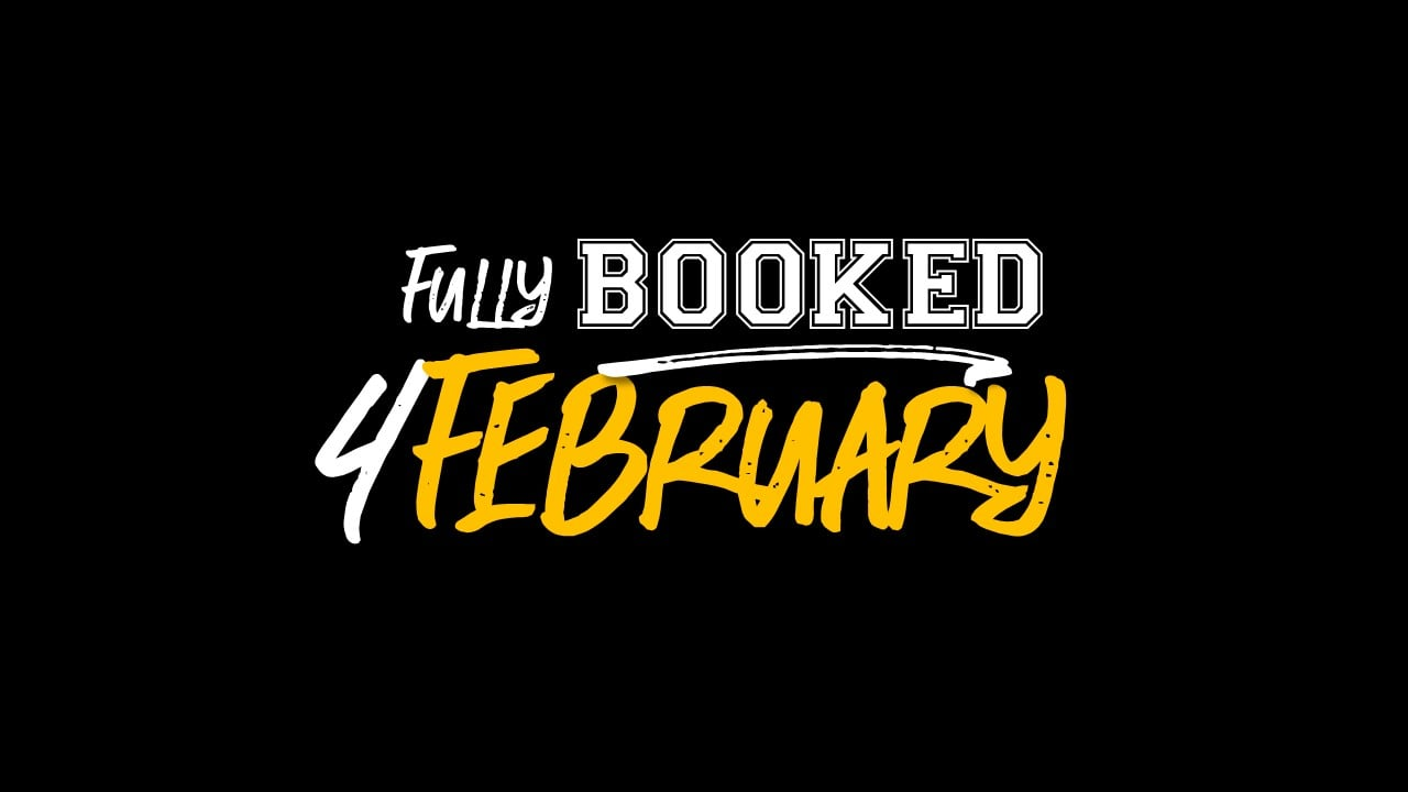 fully booked for february